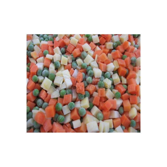 Guarnición (guisantes-zanahoria-patata)
