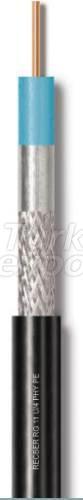 Coaxial 75 OHM Polyethylene Cover RG 11 U-4 PHY PE