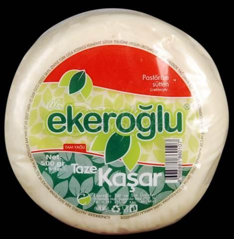 Fresh Kashar Cheese 500 GR