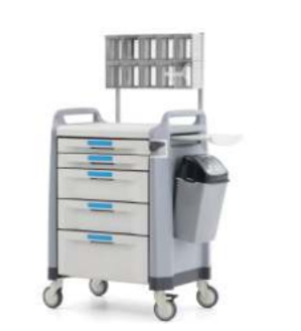 Drug and Anesthesia Trolley
