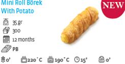 Mini Roll Pastry with Potato