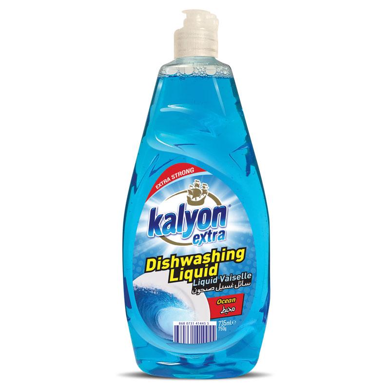 KALYON DISHWASHING LIQUID / 750 GR*12; KALYON EXTRA LIQUID DISHWASHING DETERGENT  735ML / 1225 ML*12