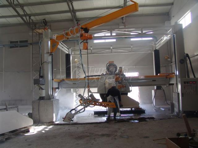 Marble Slab Cutting Machine 4st