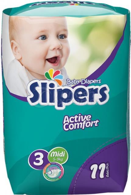 Zapatillas de bebé pañales - 618755