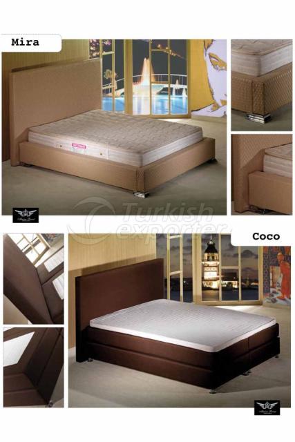 سرير بقواعد