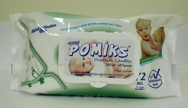 Pomiks 72 Pcs Wet Wipes