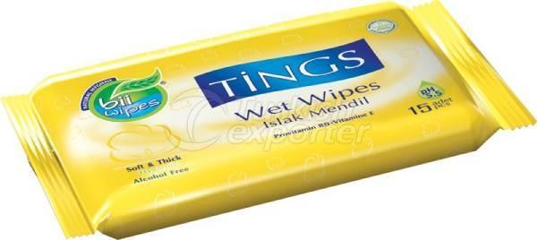 Wet Wipe 3d Things Pocket Orange