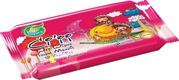 Wet Wipe Cii Pocket Pink