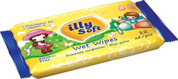 Wet Wipe Illy Pocket Orange