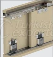Adjustable Sliding Door System M03 SRG 145