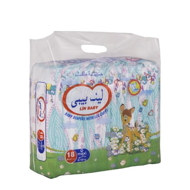 Baby Diapers Maxi 18 pcs