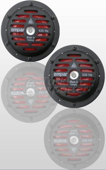 Chifre De Disco Preto 123mm
