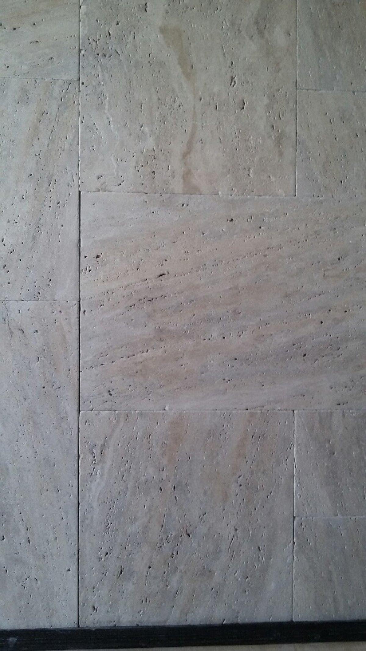 Cashmere Silver Veincut Travertine Tumbled Frpt Set