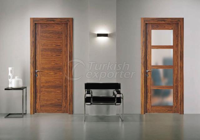 Wooden Glass Door MCK-07
