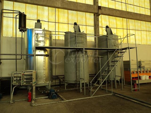 Installations de remplissage d'huile lubrifiante