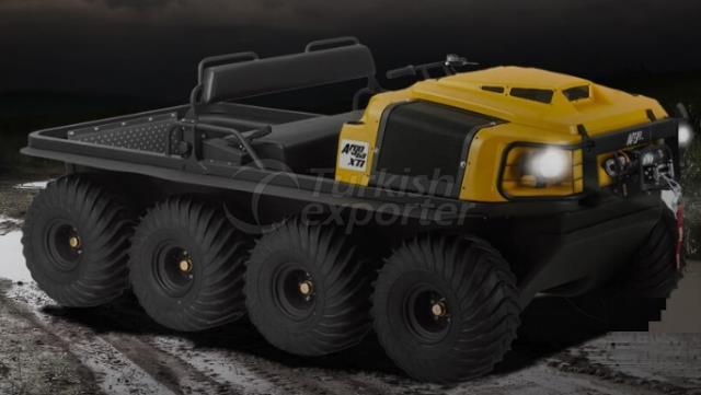 Conquête des véhicules amphibies Argo 8x8XTD