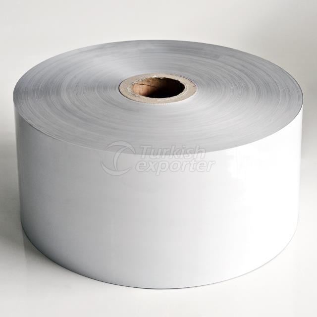 White Triplex Pet-Alu-Pe Film
