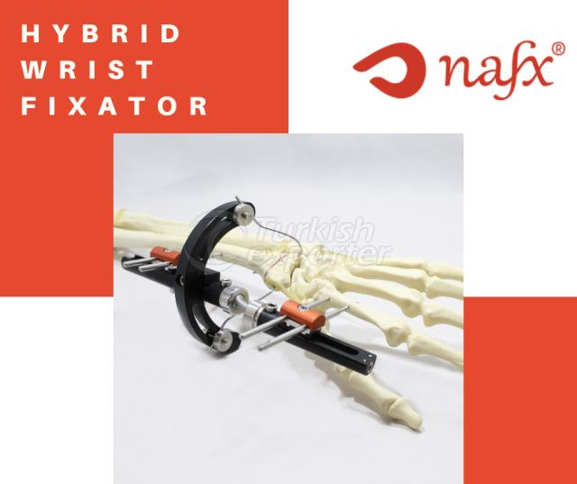Hybrid Wrist External Fixator