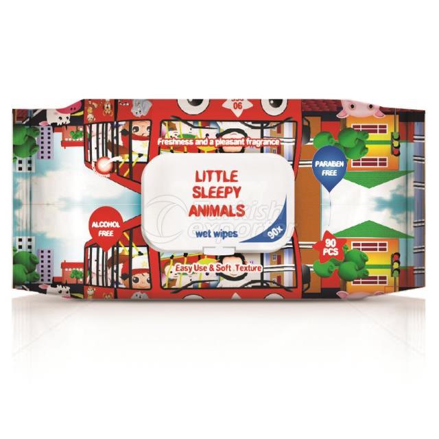 Un1023 - Little Sleepy Animals 90pcs.