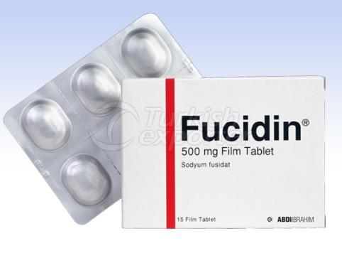 FUCIDIN 500 MG 15 TABLETS