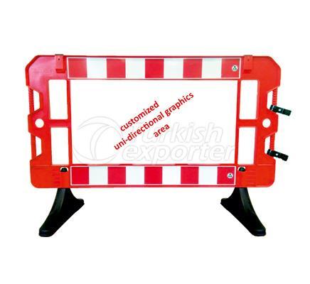 Safety Sign Barricades  12512 FB R