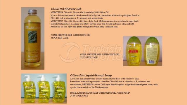 Olive Oil Shower Gel