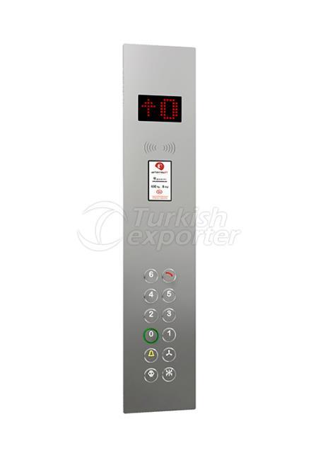Botón de cabina IAC 001D