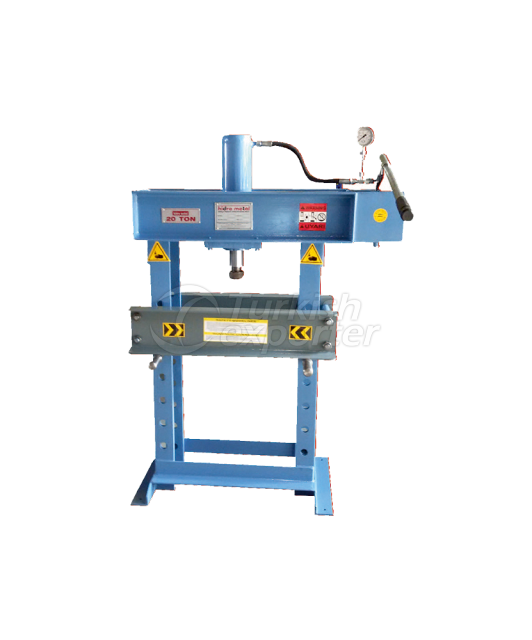 Manuel Press with 20 Tons