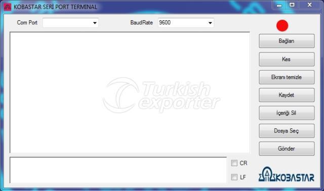 Software  (Serial Port Terminal)