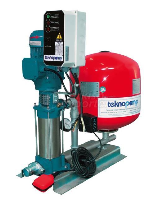 Vertical Type Water Pressure Tank
