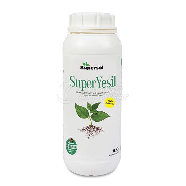 SUPERYEŞİL (Bitkisel Menşeli Amino Asit İçeren Sıvı Organik Gübre)