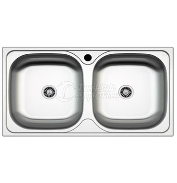 Stainless Steel Inset Sinks NR - 012