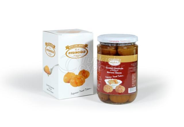 Candied Chestnut Jar 1kg
