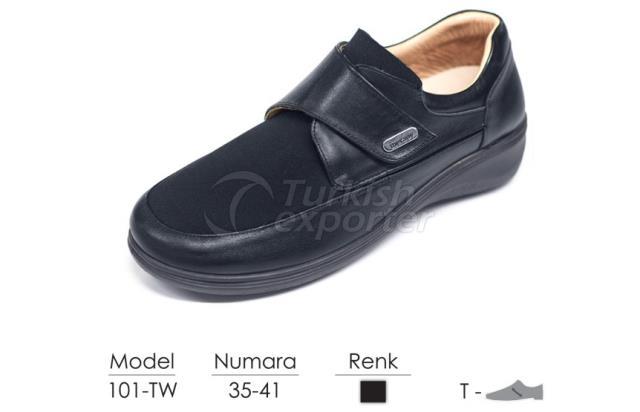 Diabetic-Orthopedic Women Shoes 101TW