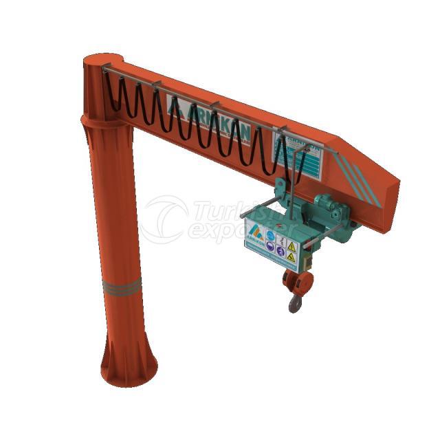 ground mounted Jib Cranes