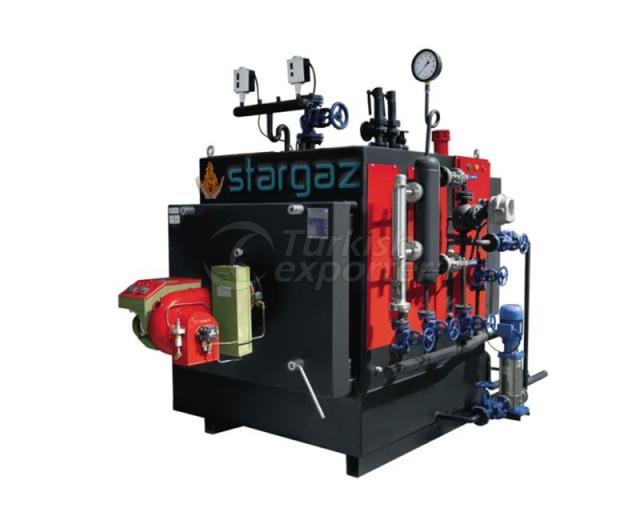 Caldeiras a vapor de combustível de gás fluido