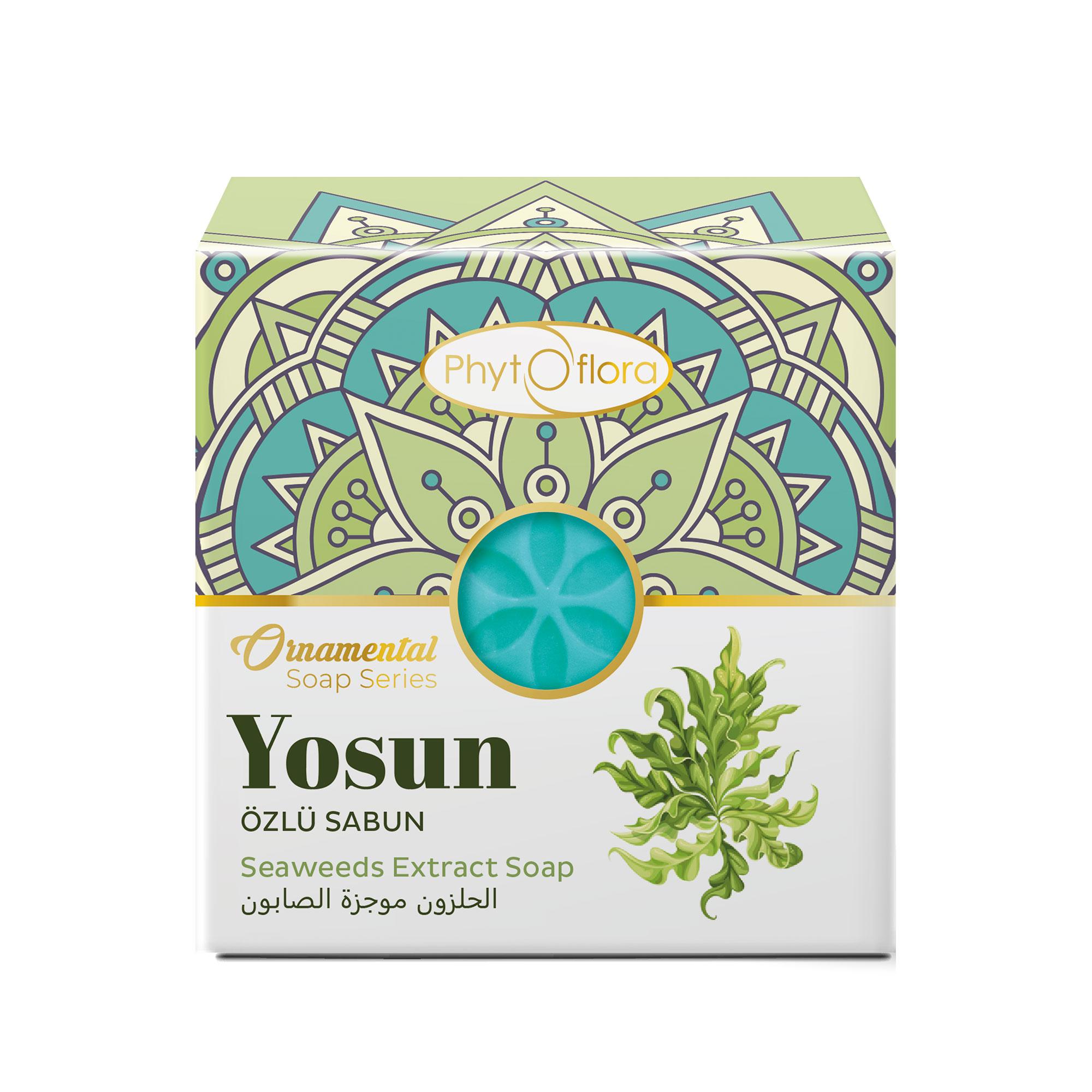 seaweeds herbal soap - ornamental soap series
