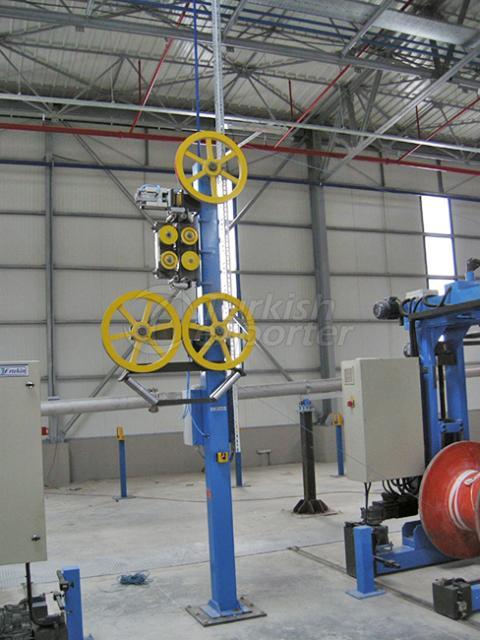 Unidades guiadoras de maquinaria de cable
