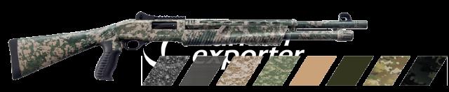 Pump Action Shotgun  RS-X2 Digital Army