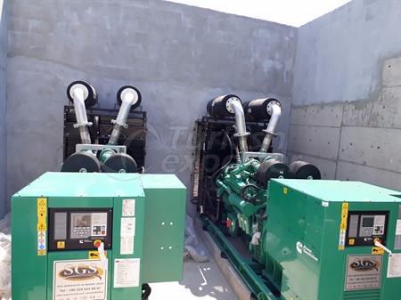 Groupes électrogènes diesel série SGC