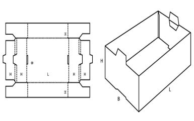 Platform and Manually Set up Boxes FEFCO 501