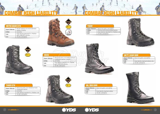 Combat High Liability Boots