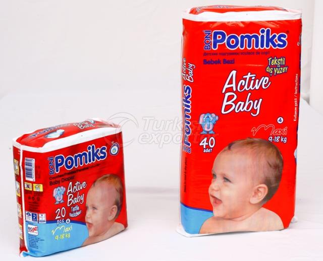 Pomiks Active Baby Diaper