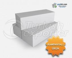 23 CM 10 Density Hollow Styrofoam