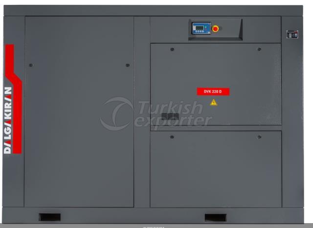 Screw Type Compressors-DVK Direct Drive Series