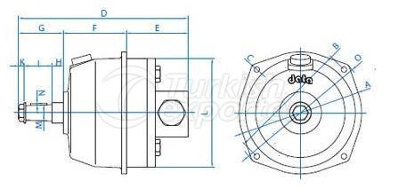 Hydraulic Cylinder DP30-42