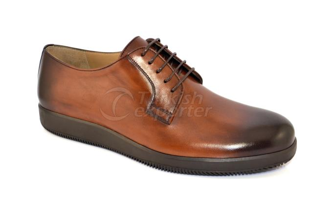 4096-1 Brown Chaussures