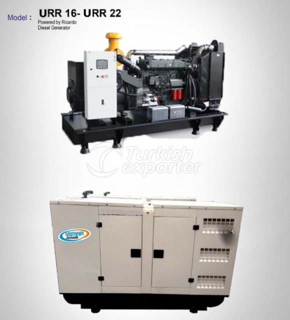 Diesel Generator - URR 16 - URR 22