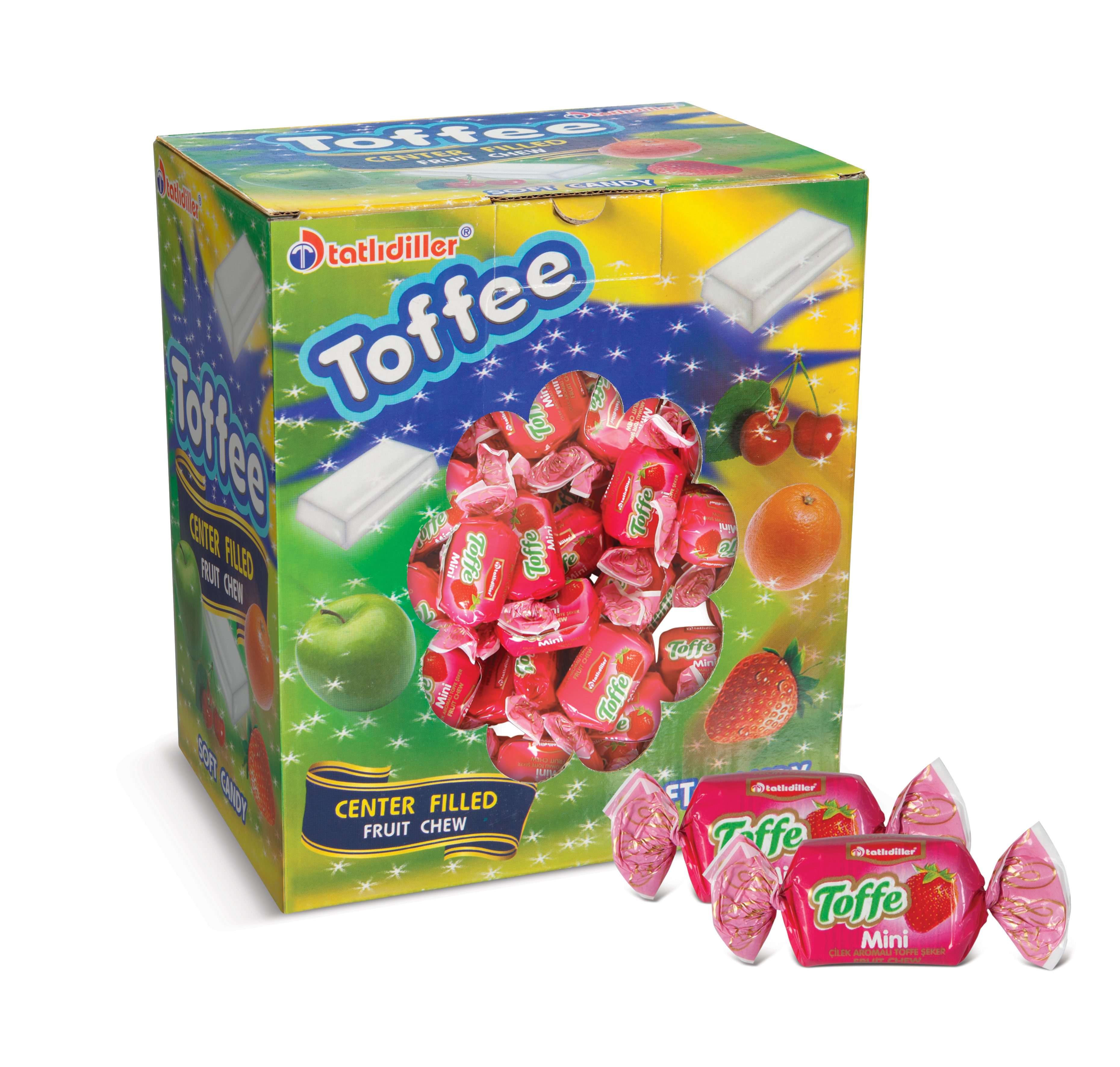 Toffe Candy Strawberry Box