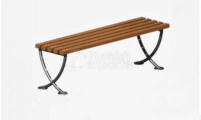 Bench Without Back Side Guard
